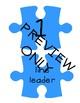 Puzzle Piece Line Up Visual Bundle & Bonus!