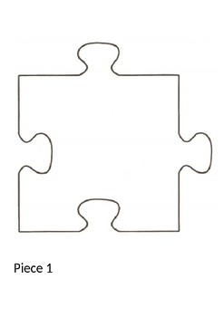 puzzle piece templates by miss h s classroom one stop shop tpt