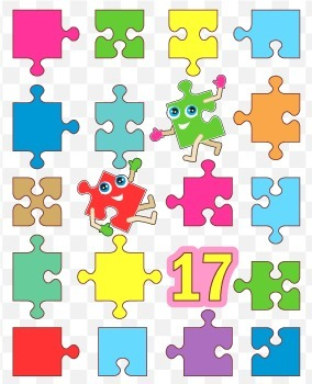 Puzzle Pieces, Commercial Use Allowed