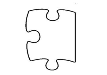 Puzzle Pieces Display