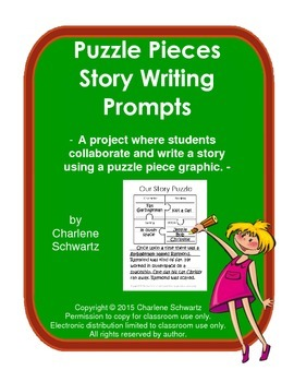 Puzzle Pieces Story Writing Prompts