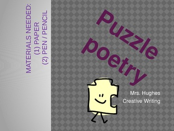 Puzzle Poetry PPT