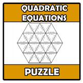 Puzzle - Quadratic equations - Ecuaciones de segundo grado