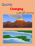 Crossword Puzzles - Quickly Changing Landforms