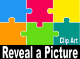 Puzzle Reveal Reward: 27 Clip Art pictures - VIPKID classroom reward