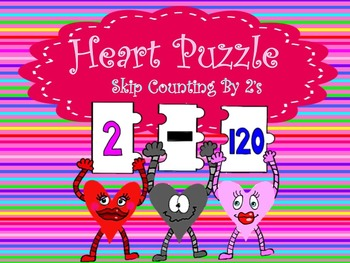 Number Puzzle: Skip Counting By 2's