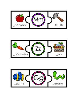 Puzzle Sonido Inicial (Spanish)
