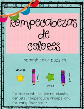 Puzzle-Spanish colors