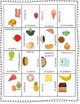 Puzzle-Spanish food
