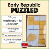 Early Republic Activity Game Puzzle Squared