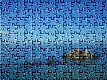 Puzzle St Malo, France