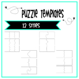 Puzzle Templates 2 and 3 piece