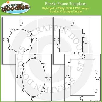 Puzzle Templates - Frames
