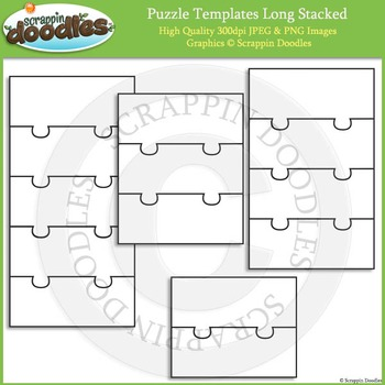 Puzzle Templates - Long Stacked