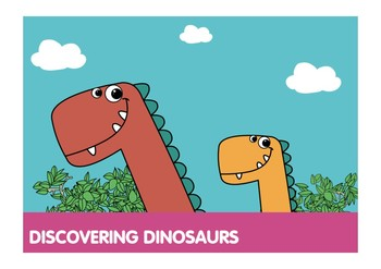 Discovering Dinosaurs ECA FCs FREE