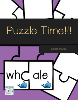 Puzzle Time!!! Digraph Puzzles