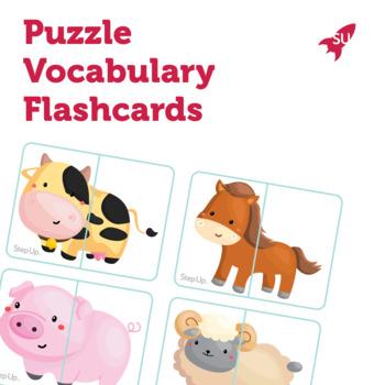 Puzzle Vocabulary Flashcards