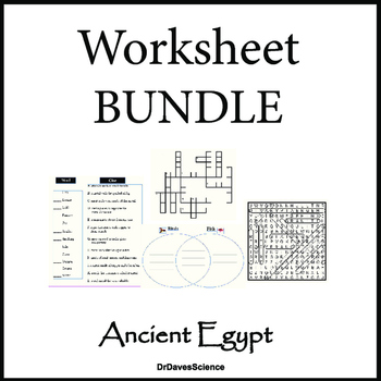 photograph about Ancient Egypt Printable Worksheets identified as Science of Historical Egypt Worksheet Packet