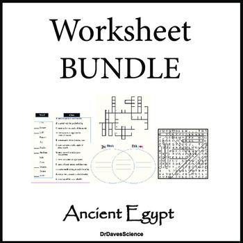 Ancient Egypt Worksheet Teachers Pay Teachers
