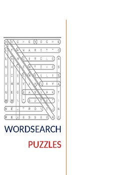 Puzzle Your Brains Out Wordsearch Puzzle's