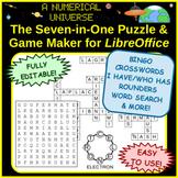 Crossword Generator BINGO Generator Puzzle Game Maker