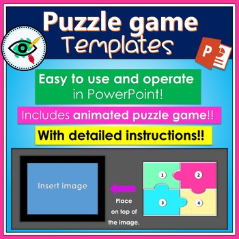 Puzzle boards game templates