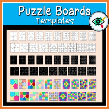 Puzzle boards templates