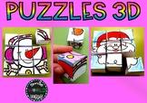 Puzzle cubos Español - Spanish puzle cube