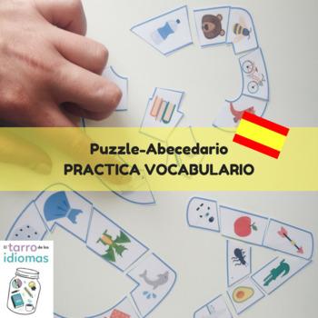 Puzzle de abecedario  Spanish lesson