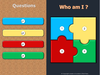 Puzzle game templates