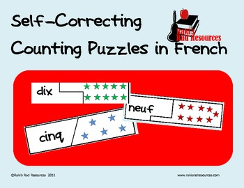 French Puzzle- compter