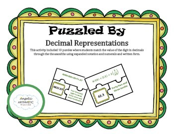Puzzled By: Decimal Representations