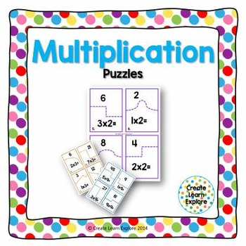 Multiplication Puzzles x2-x12
