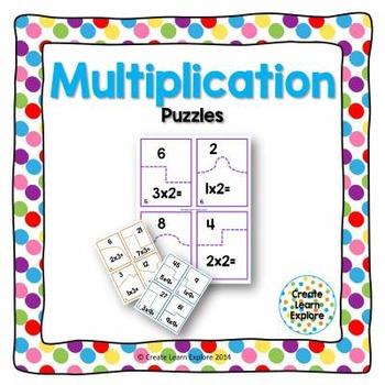 Multiplication Puzzles x2-x12