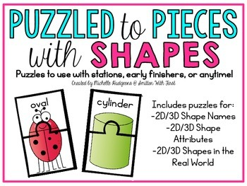 Puzzled to Pieces with 2D and 3D Shapes