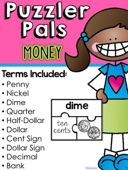 Puzzler Pals Sampler {Academic Vocabulary}