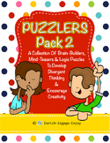 Puzzlers Pack #2: 100+ Brain Builders, Mind-Teasers, and Logic Puzzles