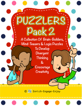 Puzzlers Pack #2: 100+ Brain Builders, Mind-Teasers, and L