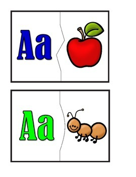Puzzles - A to Z Beginning Sounds and Pictures