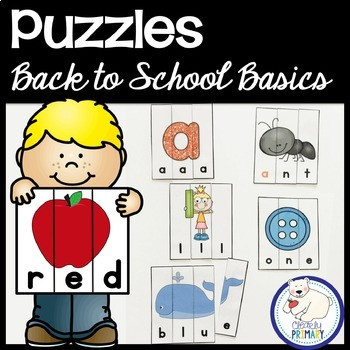 Puzzles Back to School Basics