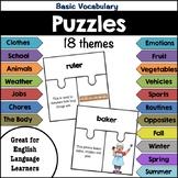 Puzzles: Basic Vocabulary