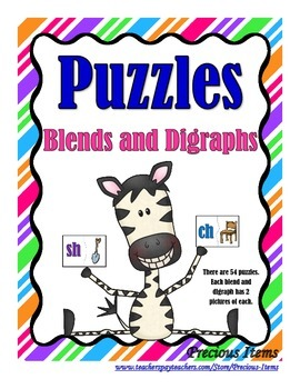 Puzzles - Blends and Digraphs