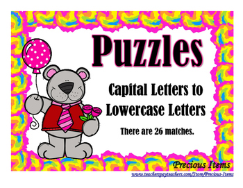 Puzzles - Capital to Lowercase Letter