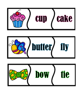 Puzzles - Compound Words - Set 2