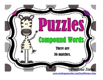 Puzzles - Compound Words