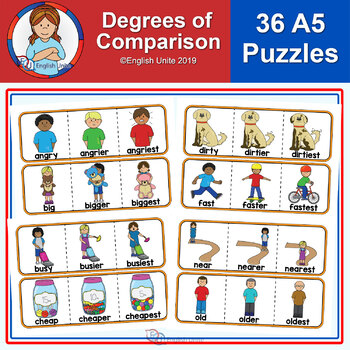 Puzzles - Degrees of Comparison