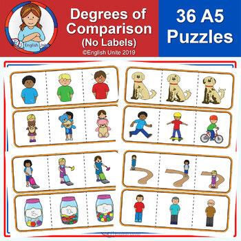 Puzzles - Degrees of Comparison (No Labels)