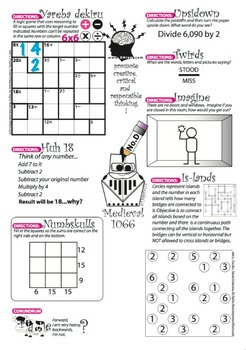 Math Puzzles Deluxe