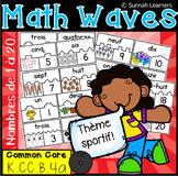 Puzzles Des Nombres de 1 à 20 (Math Waves)