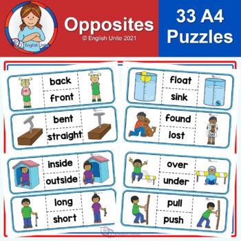 Puzzles - Opposites/Antonyms